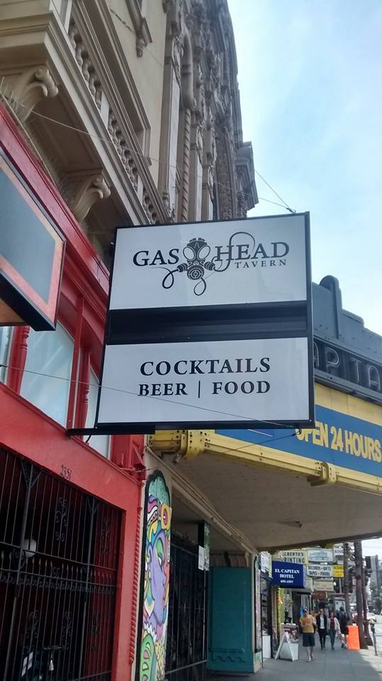 GAS hed found a sign in San Francisco